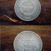 1000 reis 1860 14298 Casa do Colecionador