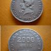 2000 reis prata 1912 29138 Casa do Colecionador
