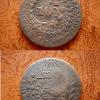 40 reis 1830 c. com carimbo de 10 Casa do Colecionador
