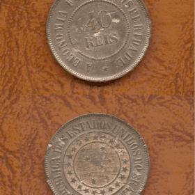 40 reis bronze 1900 35728 Casa do Colecionador