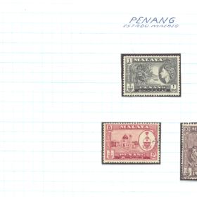 selos penang lote 90 Casa do Colecionador