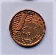 1 Centavo 1999 Casa do Colecionador