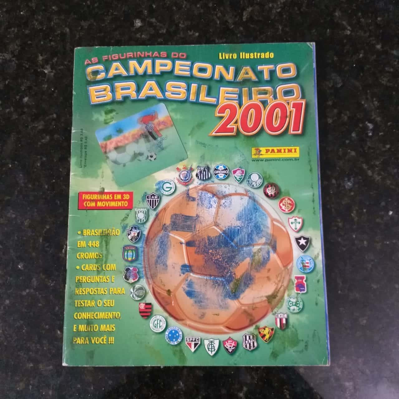 Brasileiro 2001 1a Casa do Colecionador