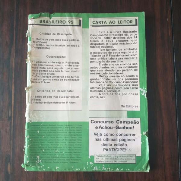Brasileiro 95 sucata a Casa do Colecionador