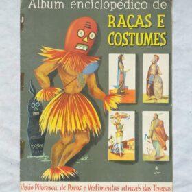 album racas e costumes 3 Casa do Colecionador