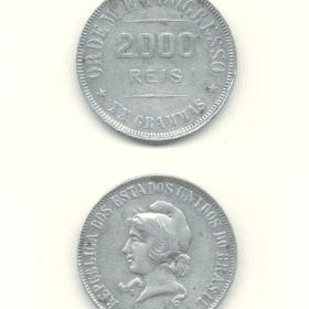 2000 reis 1906 o de ordem aberto 1 Casa do Colecionador