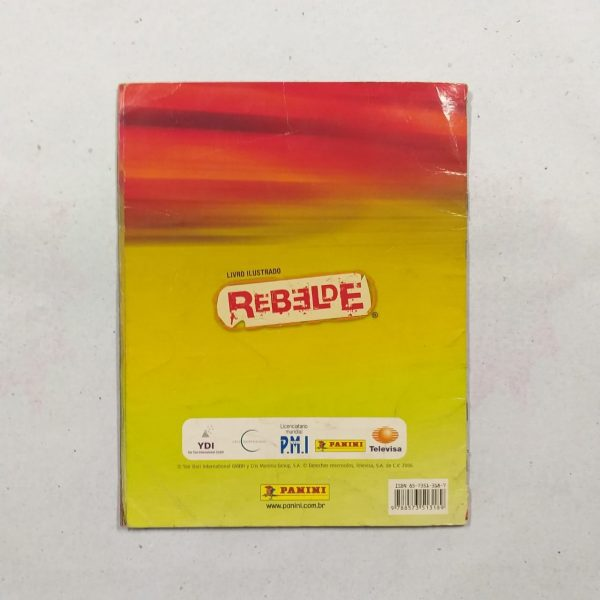 Album rebelde 1c Casa do Colecionador
