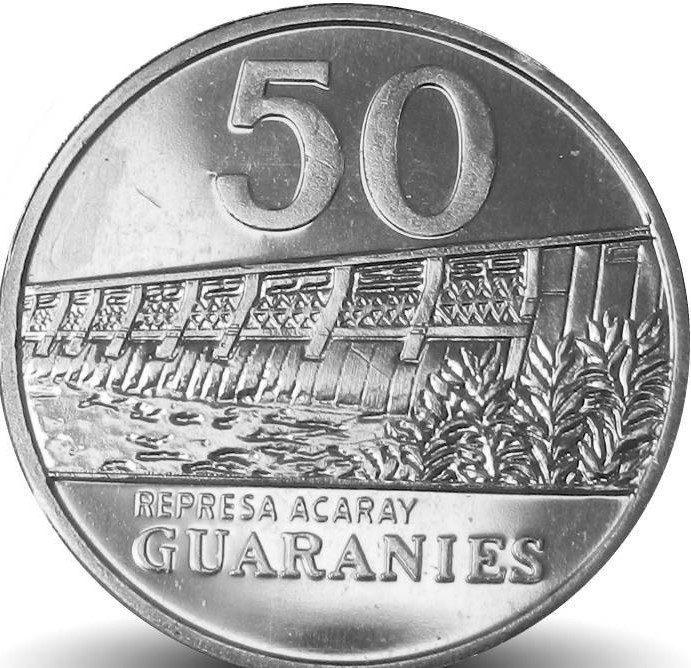 Moeda paraguay 50 guaranies jose Casa do Colecionador