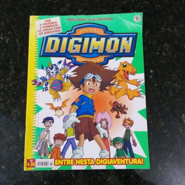 Rev Digimon 1 Casa do Colecionador