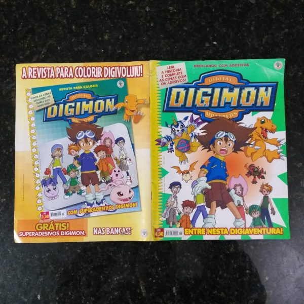 Rev Digimon 3 Casa do Colecionador