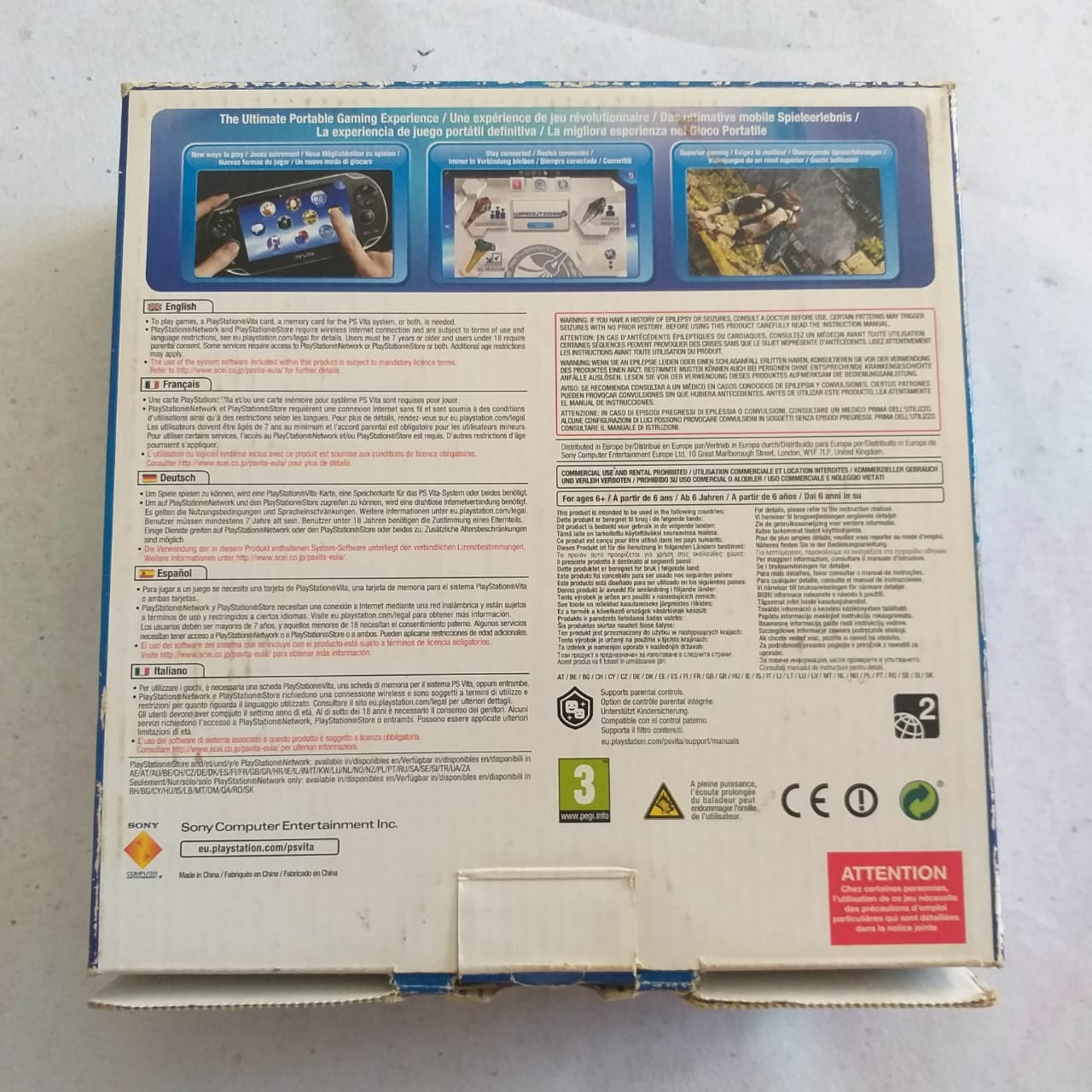 PS Vita 10 Casa do Colecionador