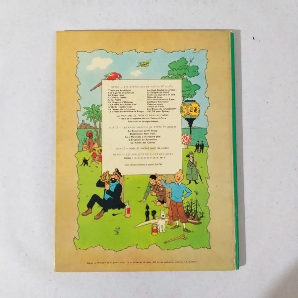 Tintin 15 Casa do Colecionador